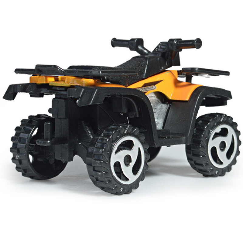 1* Kids Diecasts Vehicles Mini Motorcycle Cars Children Boys Alloy Beach Motorcycle Simulation Farmer Sliding Toys Car Model