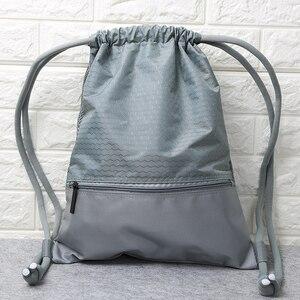 Школьный рюкзак с кулиской для подростков, женский водонепроницаемый рюкзак с кулиской, Большой Вместительный спортивный рюкзак Mochila