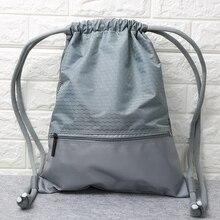 SchoolBag Drawstring Backpack For Teenage women Waterproof Drawstring Bag Packin