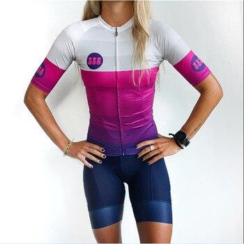 цена на 2020 tres pinas cycling jersey set 9D bike Shorts set mtb Ropa Women summer quick dry pro BICYCLING shirts Maillot Culotte wear