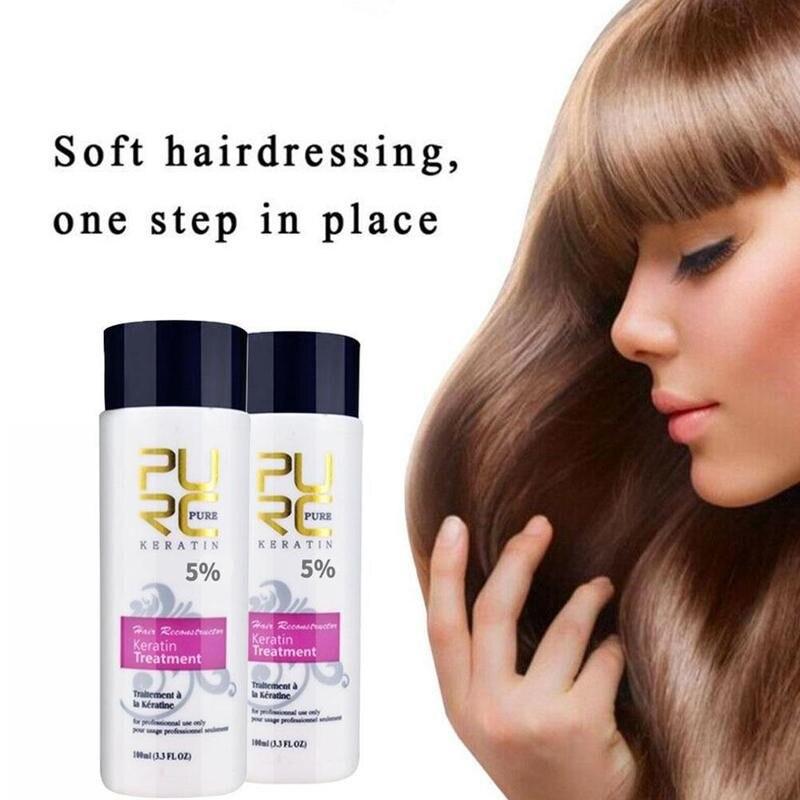 Кондиционер для ухода за волосами, восстанавливающий восстановление поврежденных волос, бразильский Кератиновый шампунь, восстановление ...