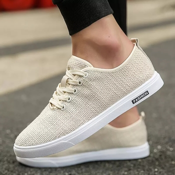 2020 Mens White Casual Shoes Summer Rubber Bottom Vulcanized Tennis Sneakers Fashion Walking Wholesale Free Shipping