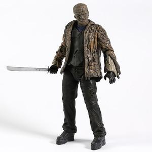 Image 4 - NECA Freddy vs. Jason Jason Voorhees PVC Action Figure Sammeln Modell Spielzeug 18cm