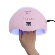 SUN X9 Plus 48 Вт УФ светодиодная лампа для сушки ногтей 21 шт. светодиодный s быстрая сушка лак для ногтей Маникюрный Инструмент