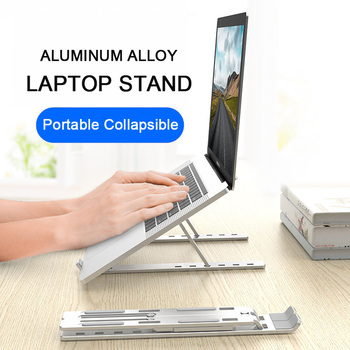 Laptop Stand for MacBook Pro Notebook Foldable Aluminium Alloy Laptop Holder Bracket Laptop Holder to 17inch for MacBook Air Pro