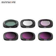 3/4/6 Pcs Sunnylife FIMI ปาล์ม MCUV CPL ND ND4 ND8 ND16 ND32 เลนส์กรองชุดสำหรับ FIMI ปาล์ม gimbal กล้องอุปกรณ์เสริม