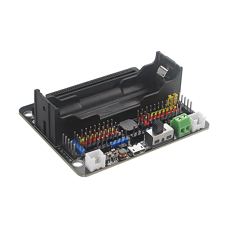Robotbit Expansion Board For Micro:bit Extension Board For Kittenbot Support 18650 Lithium Battery