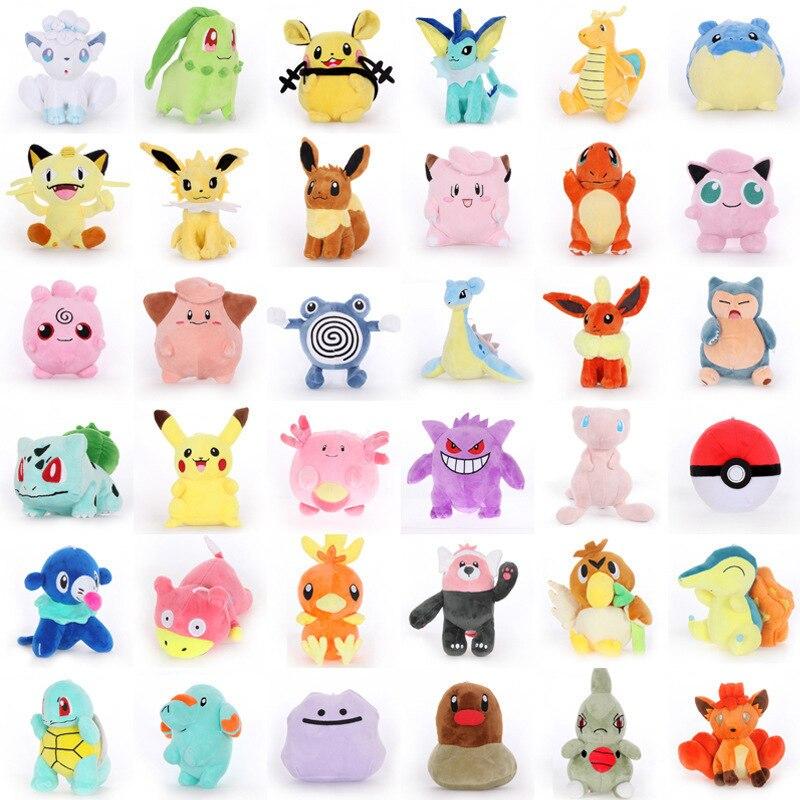 takara-tomy-23-style-font-b-pokemon-b-font-pikachu-torchic-mudkip-plush-toys-jigglypuff-charmander-bulbasaur-animal-plush-stuffed-toys