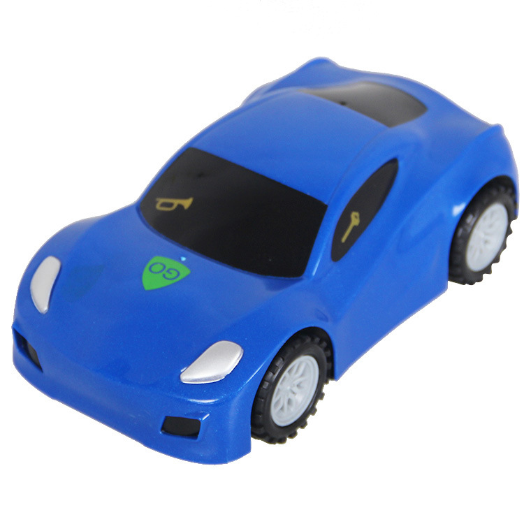 CHILDREN'S Electric Toy Car Boy Gift Sound Making Model Smart Police Car Model Cartoon Touch E-Bike