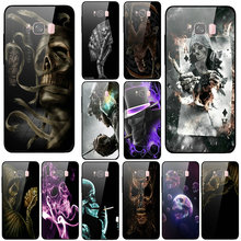 Coque Shell Tempered Glass Mobile Phone Cases for S