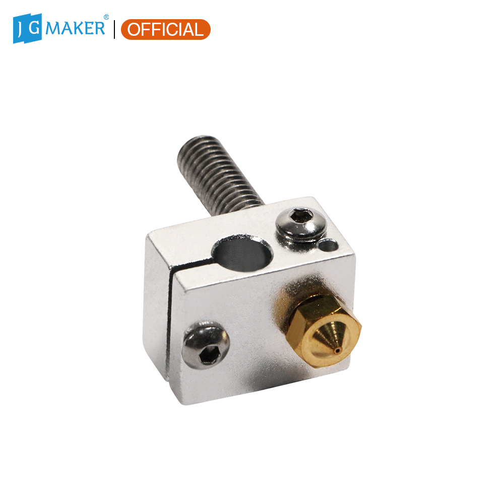 JGMAKER A5S A5 Magic A3S 3D Printer Nozzle Suit Nozzle kit Hotend Throat with Heated Block