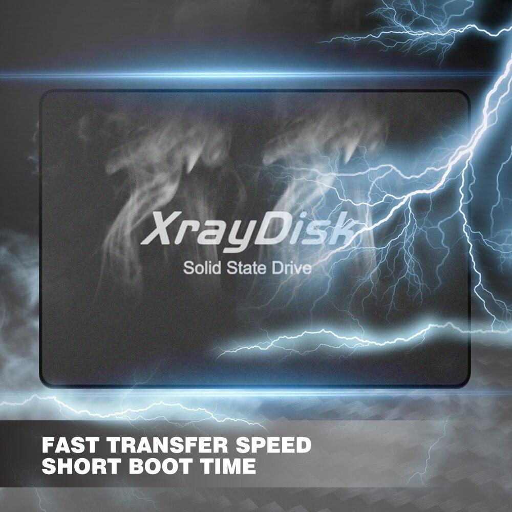 XrayDisk 2.5''Sata3 Ssd 120gb 128gb 240gb 256gb 60gb 480gb 512GB 1TB Hdd Internal Hard Disk Solid State Drive Desktop 5