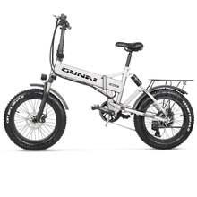 Электрический горный велосипед gunai 20 дюймов 500 Вт 48 В Ач
