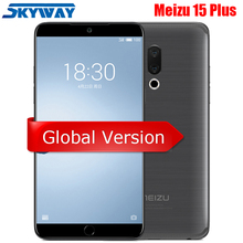 Original Meizu 15 Plus 6GB 64G/128GB Exynos 8895 Octa Core Mobile Phone 5.95″ 1440P Screen 20MP Dual Camera