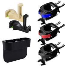 Car Cup Holder Black Drink Phone Holder Universal Multifunctional Mobile Drink Auto Hanging Holder For Car Interior Accessories стоимость