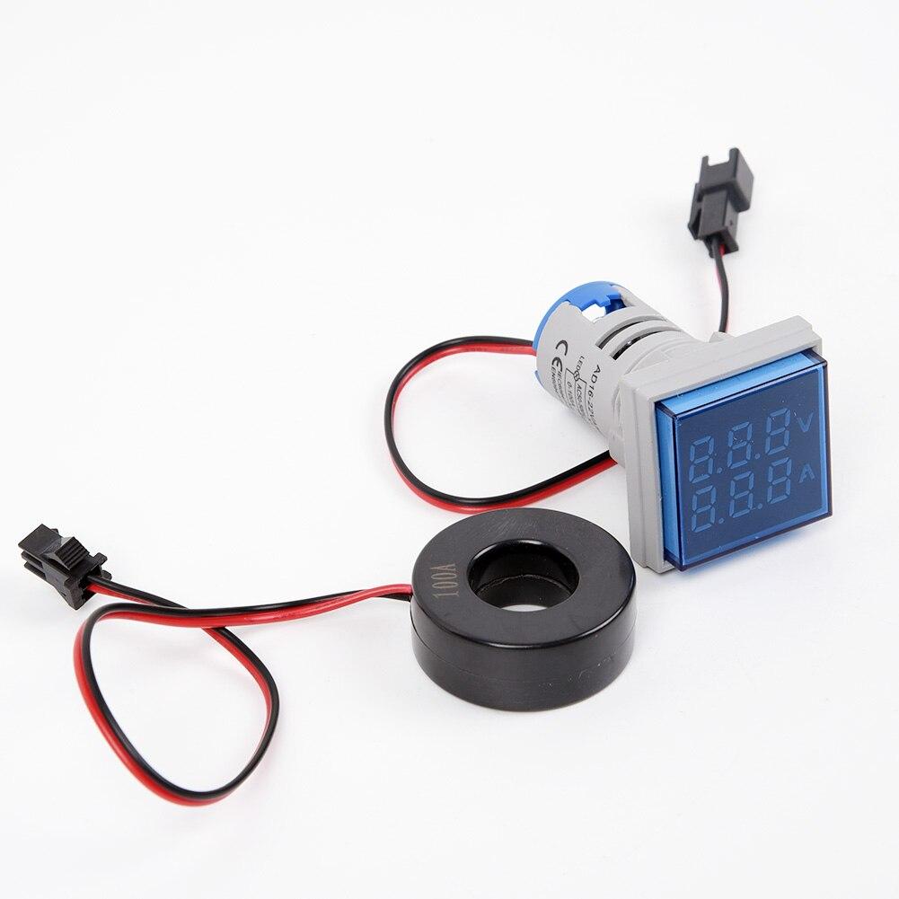 Hot Sale High Quality LED Digital Dual Display Voltmeter Ammeter Voltage Gauge Meter AC 60-500V 0-100A