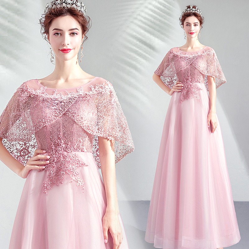 Pink Beading Sequin Dress For Women Elegant Ceremony Party Prom Dressses Formal Gala Events Luxury Long Evening Dresses