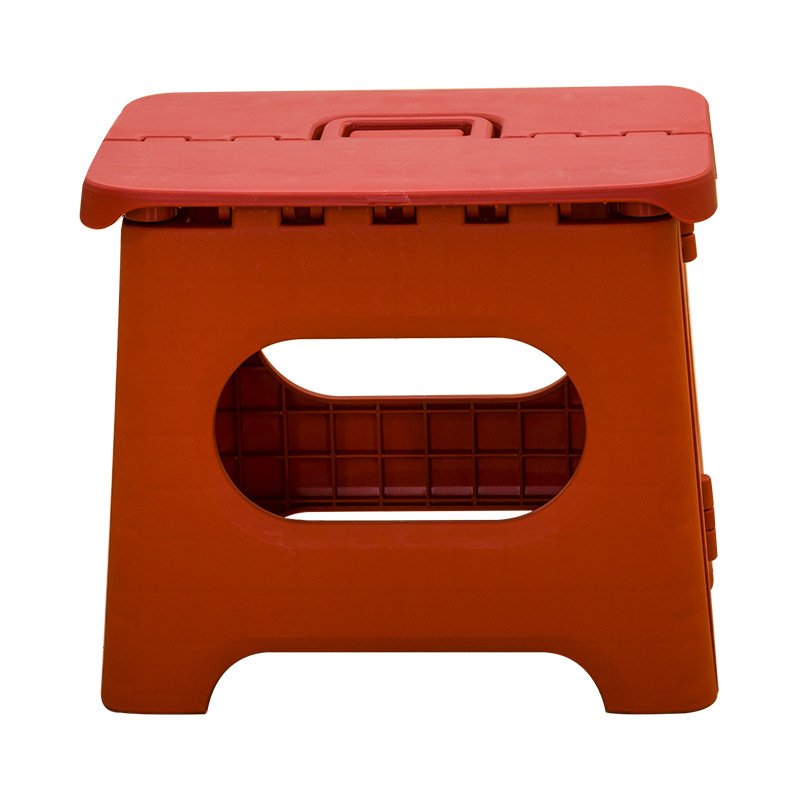 Children's Stools Plastic Multi Purpose Folding Step Stool Home Train Outdoor Storage Foldable Saddle Kids Stool Bench Kid Chair