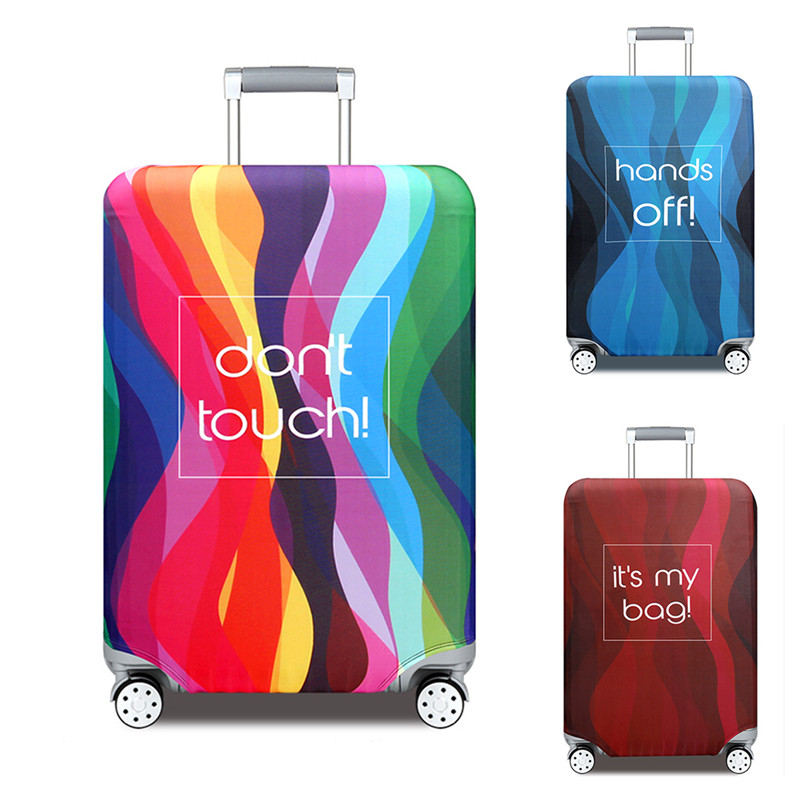 VOGVIGO Elastic Travel Luggage Covers Dustproof Protective Travel Suitcase Cover For 18-32 Inch Trolley Bag Luggage Accessories