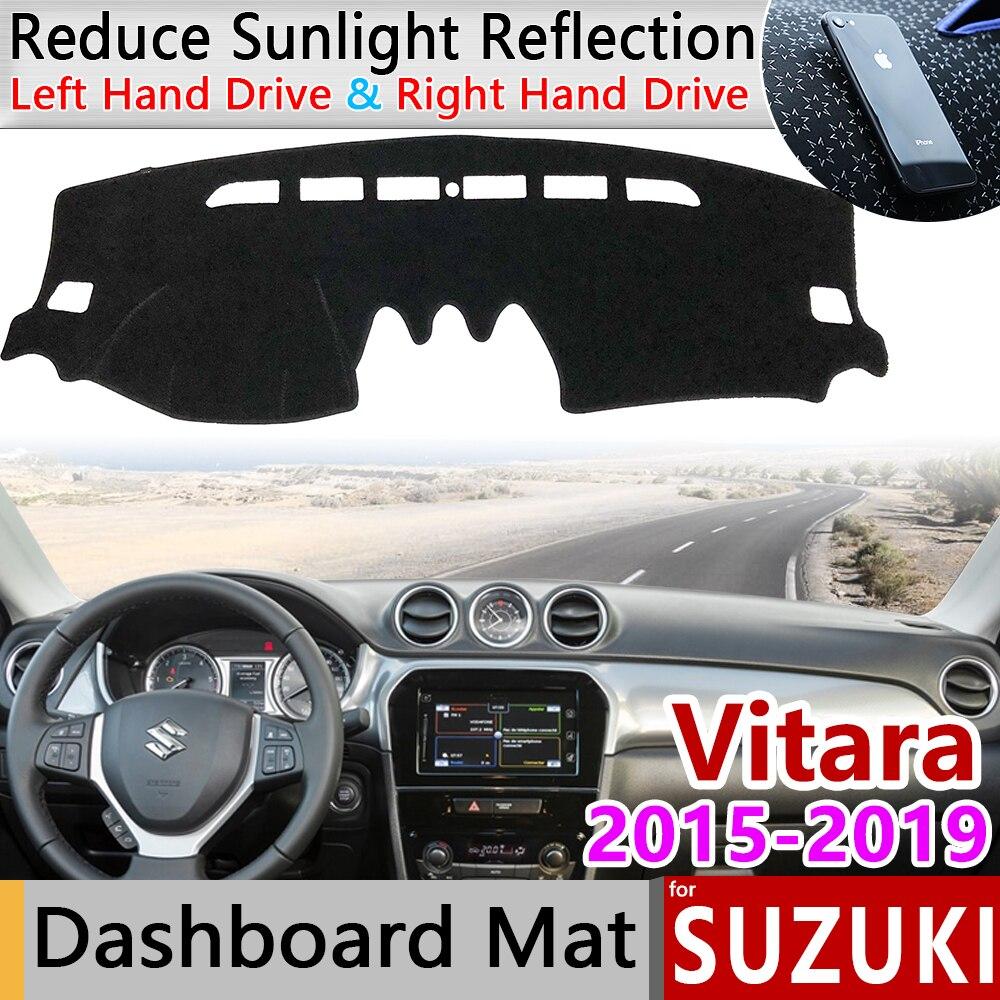 For Suzuki Vitara LY 2015 2016 2017 2018 2019 Escudo Sport Anti-Slip Mat Dashboard Cover Pad Sunshade Dashmat Accessories Cape