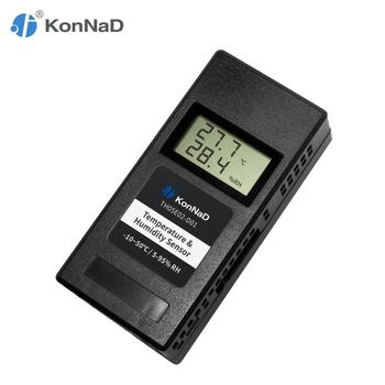 Temperature Humidity Sensor RS485 (-10~50℃) (5-95% RH) Magnet mounting Modbus RS485 output KonNaD
