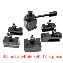 1Set Tool Post Holder Steel Quick Change Tool Post t 250 001 010 Mini Lathe Tool Post and Holder Kit Lathe Accessary