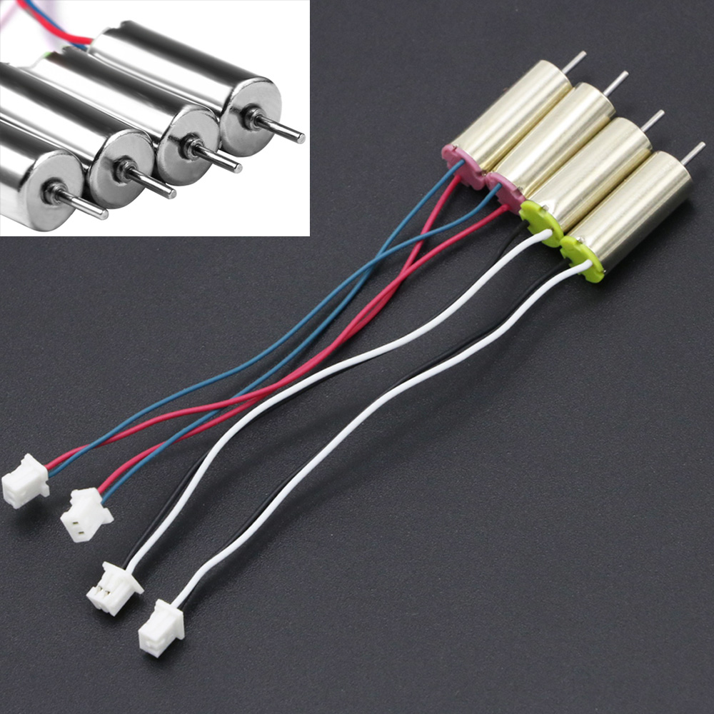 4X 615 6x15mm 0615 6*15mm Coreless Motor 2CW 2CCW For 90mm-130mm DIY Micro FPV Quadcopter Frame