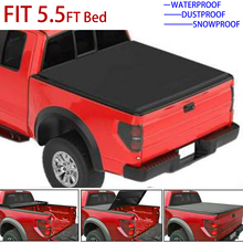 Tonneau Cover Soft Tri Fold Car Truck Cover For Ford F 150 04 08 5.5ft 66inch Short Bed