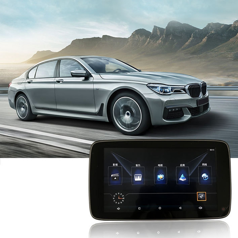 Автомобильный DVD-плеер с монитором на подголовник, Android 8,1, для BMW X5 (F15) X6 2014, автомобильный тв-экран, 11 дюймов, развлекательная система на задне...