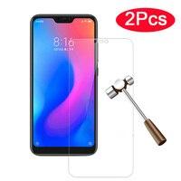 2pcs Gehärtetem Glas Redmi 6 6A glas für Xiaomi Redmi5 redmi6 6a 5a eine 6 schutz glas Screen Protector film Auf Ksiomi Xiomi