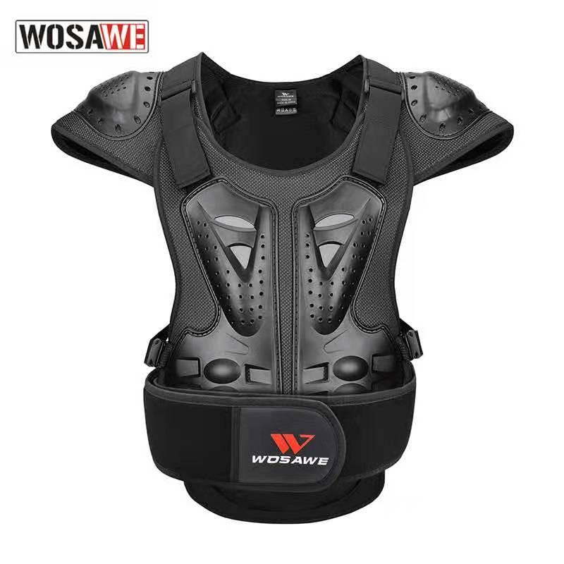 Wosawe взрослый беговой мотоцикл защитный жилет нагрудный доспех для катания на лыжах Скейтбординг и катание на коньках оборудование