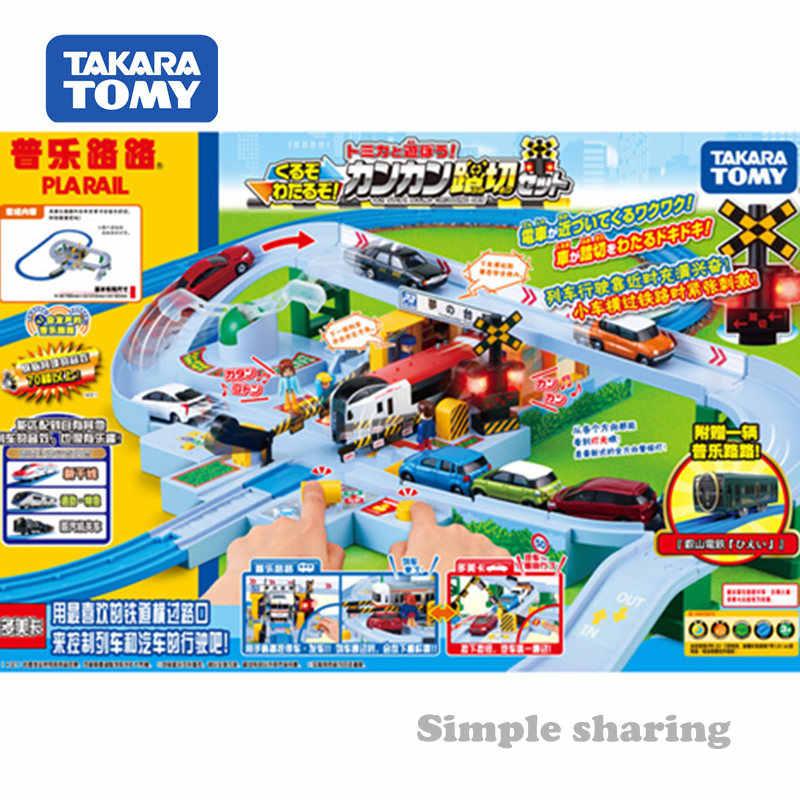 NUOVO Tomy Tomica Trackmaster Train-Doppio Crossing RAIL