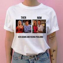 Женская одежда повседневная футболка с круглым вырезом для ТВ