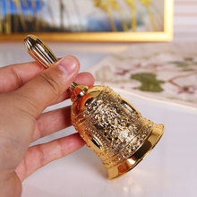 Hand Call Bell Gold Silver Multi-Purpose Bells for Craft Wedding Decoration Alarm School Church Classroom Bar Hotel Vintage Bell