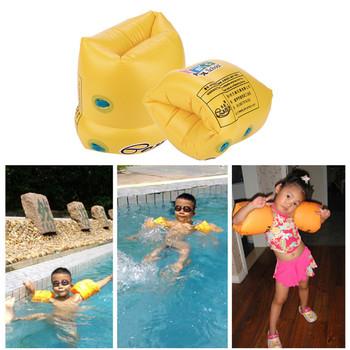 2 sztuk dmuchane akcesoria do wody powietrza rękawy dla dzieci pcv mężczyźni kobiety dorosłych dziecko ochronna treningowa nadmuchiwany basen kąpielowy obręcz na ramię do pływania koło tanie i dobre opinie WOMEN 2Pcs PVC Men Women Adult Child Safety Training Inflatable Swim Pool