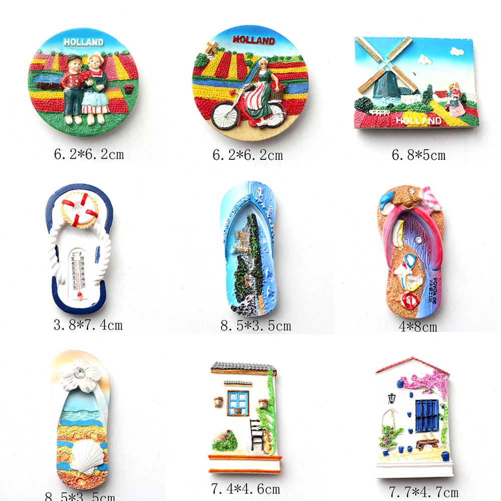 World Tourism Fridge Magnets Holland Style Shoe House Resin Magnetic Refrigerator Craft Kitchen Accessories Decoration Home Statues Sculptures Aliexpress