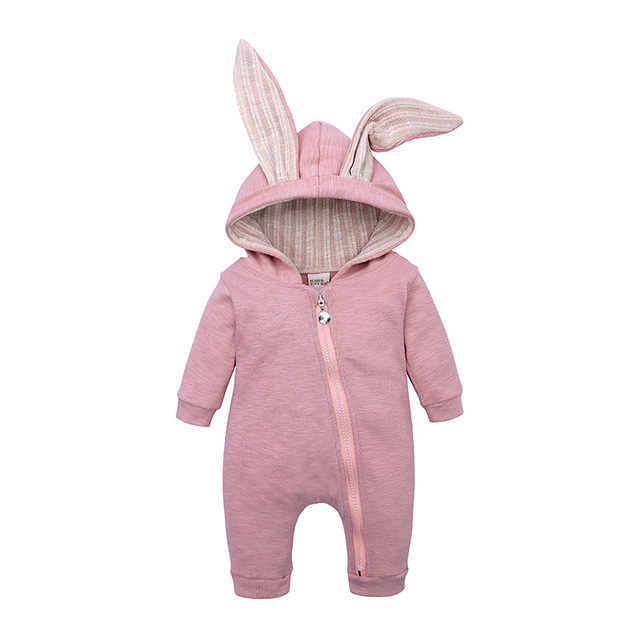 Baby Girl Clothes Spring Baby Boys Jumpsuit Hooded Warm Overalls For Children Coat Baby Clothes Newborn Rompers Infant Clothing