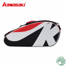 2021 Genuine Kawasaki Master Series Badminton Bag Large Capacity Racquet Sports Bag for 6 Badminton Rackets KBB-8685