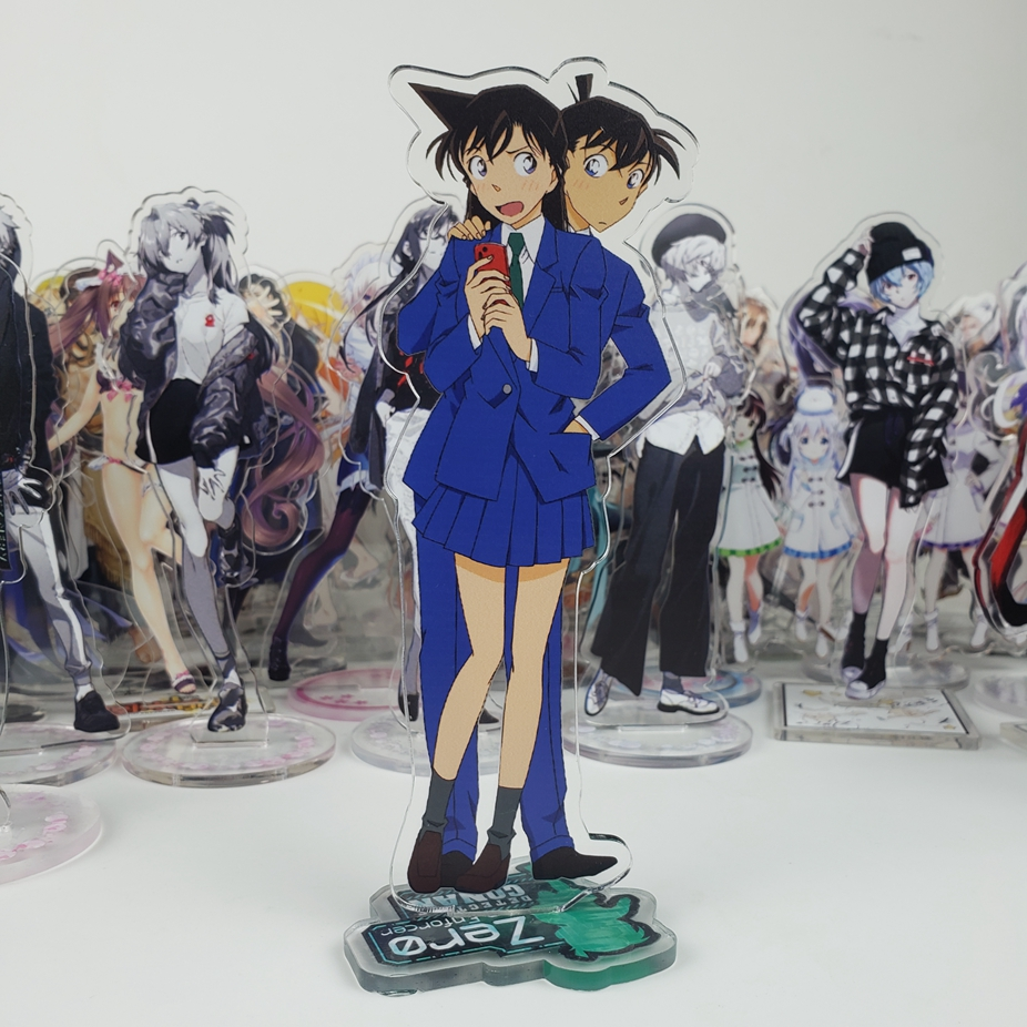 Anime Detective Conan Case Closed Conan Edogawa Jimmy Kudo Graythorn Acrylic Stand Figure Decoration Cosplay Desk Decor Gifts