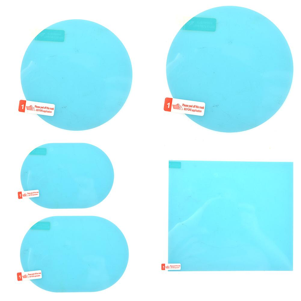 NEW 2pcs/pack Car Rearview Mirror Waterproof Anti-Fog Rain-Proof Film Side Window Glass Film A Variety Of Size Specifications