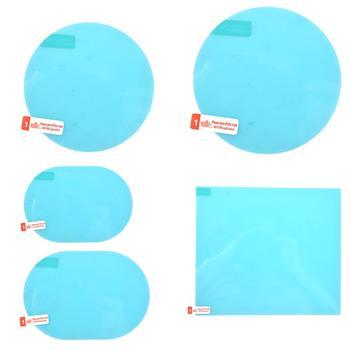 Nouveau 2 pcs/pack rétroviseur de voiture étanche Anti-buée Film Anti-pluie fenêtre latérale Film de verre une variété de spécifications de taille
