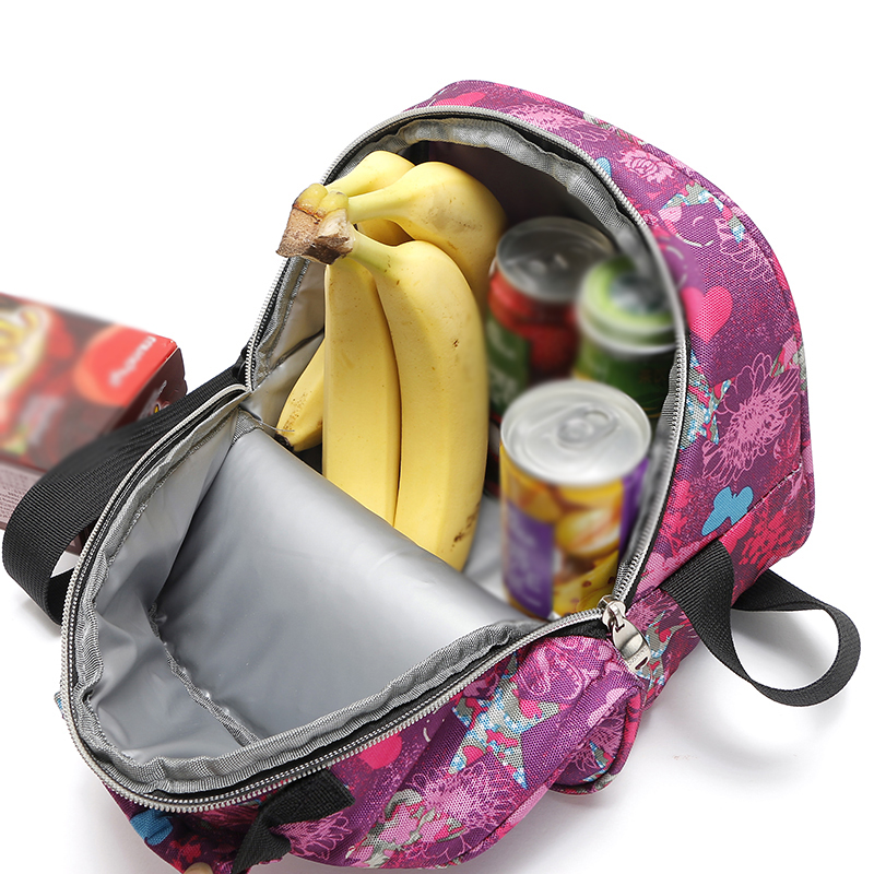 4L Small Capacity Child Insulation Bag Portable Insulated Cooler Bag Insulated Lunch Box Tote Bag Travel Men Women Cold Thermal