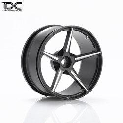 4PCS 1:10 RC Car Alloy Supercar 458 +6+9 Wheel Rims Hub For 1/10 RC Drift HSP Tamiya HPI Axial Scx10 Traxxas TRX4 Hard Tyre VSKF