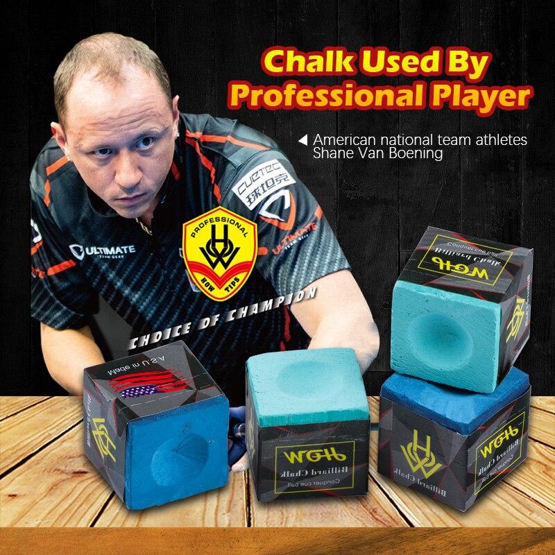 HOW Chalk Billiard Cue Tailor-made Chalk Snooker Chalk Powder Pool Chalk 2 Pieces Per Box Two Color Options Billiard Accessories