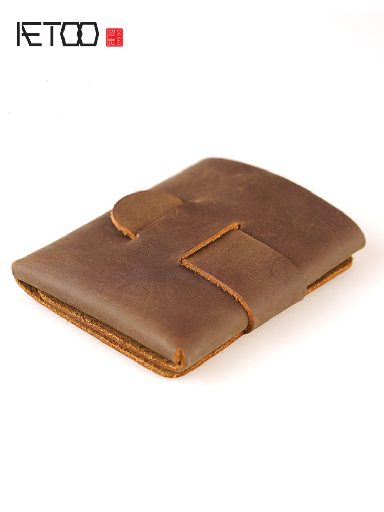 AETOO Wallet Original Minimalist ALTERNATIVE Features Crazy An