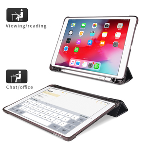 Image 2 - For iPad 10.2 2019 Air 3 2 1 Case with Pencil Holder For iPad 9.7 2018 6th 7th Generation Case For iPad Pro 11 10.5 Mini 5 Funda