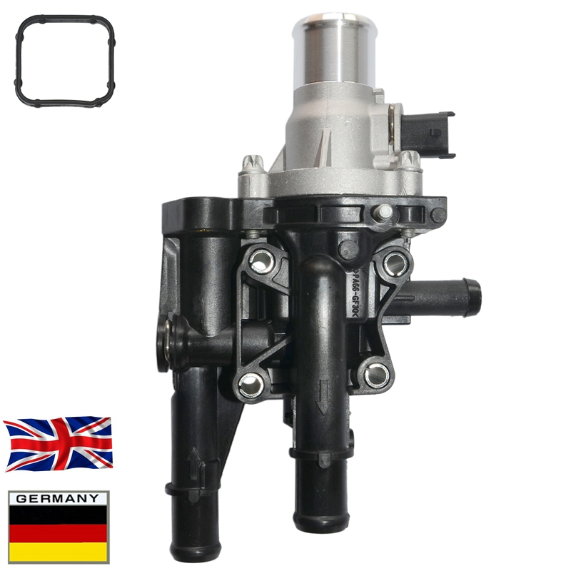 AP02 Thermostat & Housing & Sensor Kit For Vauxhall Zafira B Vectra C Signum MK5 Opel 1.6 1.8 1338256 71770832 55353311 6338044 thermostat housing - title=
