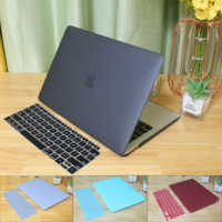 Matte Laptop Case funda For MacBook Pro 16 A2141 2019 For MacBook Air Pro Retina 11 12 13 13.3 15 inch Touch Bar +keyboard cover