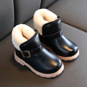 Baby Boots Sport-Shoes Toddler Infant Baby-Boys-Girls Rubber Fashion Solid Loop Ankle