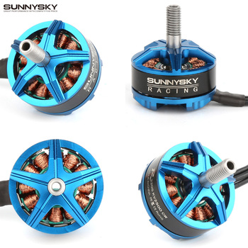 4pcs Sunnysky R2205 2300KV 2500KV Brushless Motor CW CCW for FPV Racing Quadcopter Drone Multicopter New best seller 2set 4pcs h8c 05 cw ccw motor for jjrc h8d h8c f183 rc quadcopter dorp shipping wholesale
